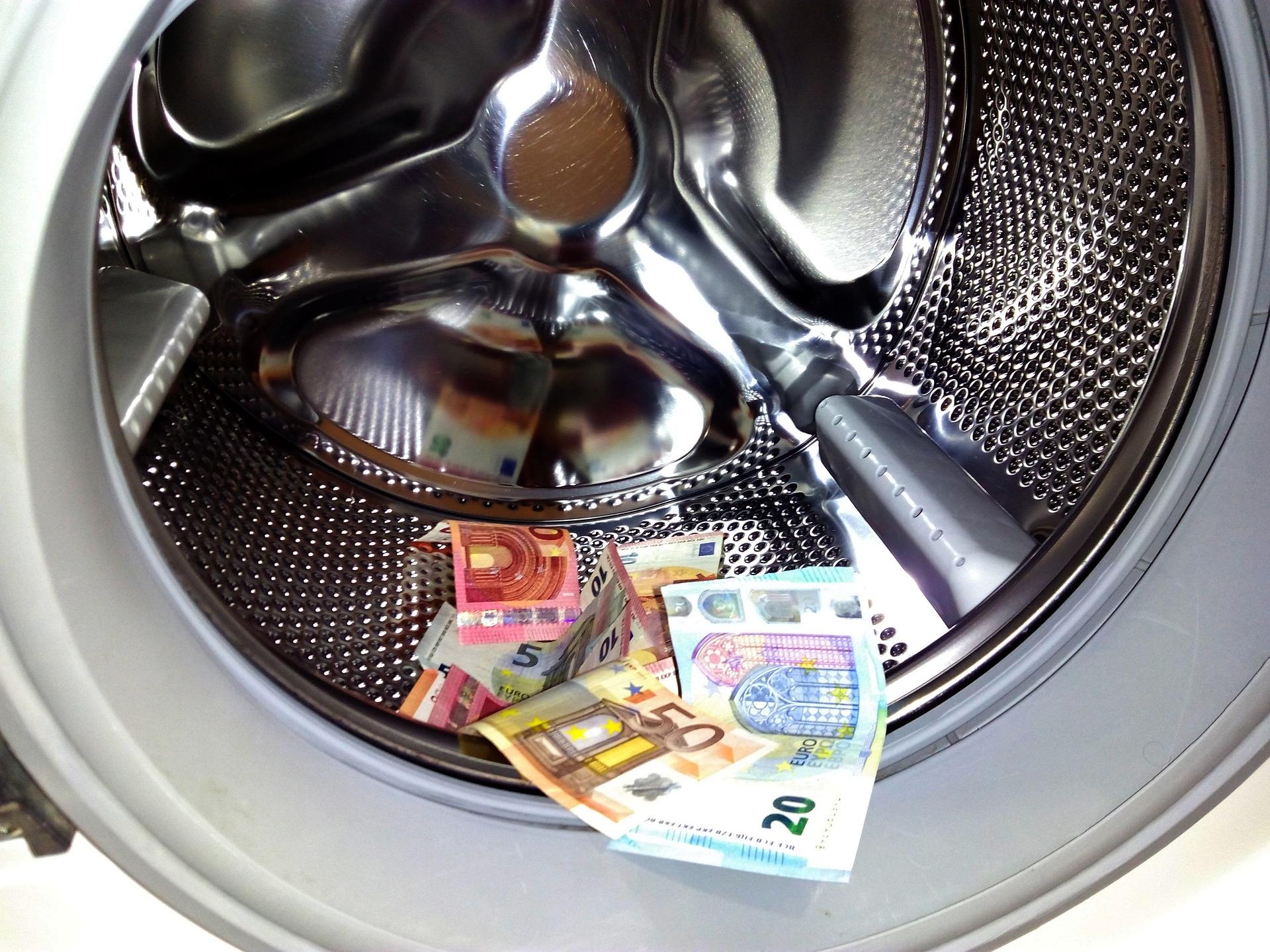 penningtvätt tvättmaskin