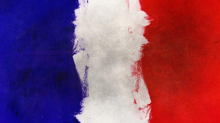 Frankrike flagga
