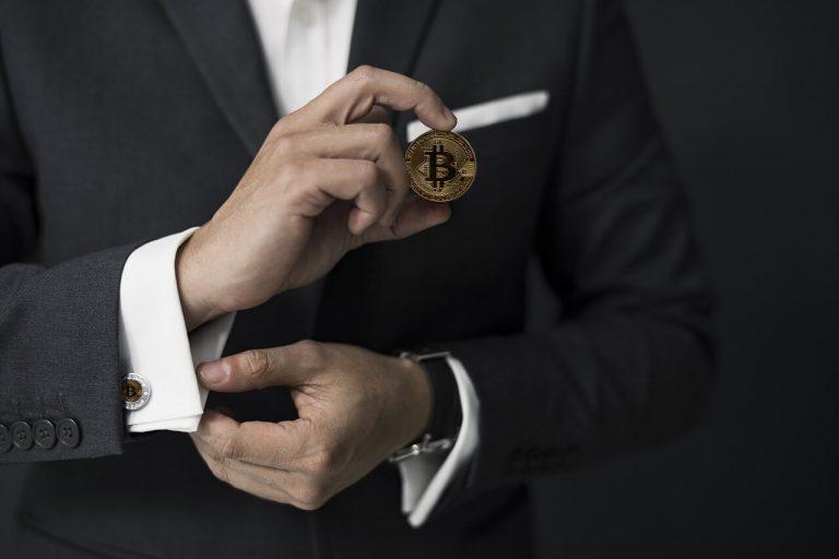 Bitcoin man