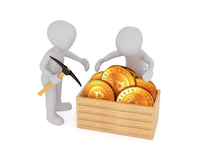 Kryptovalutor gräva Bitcoin